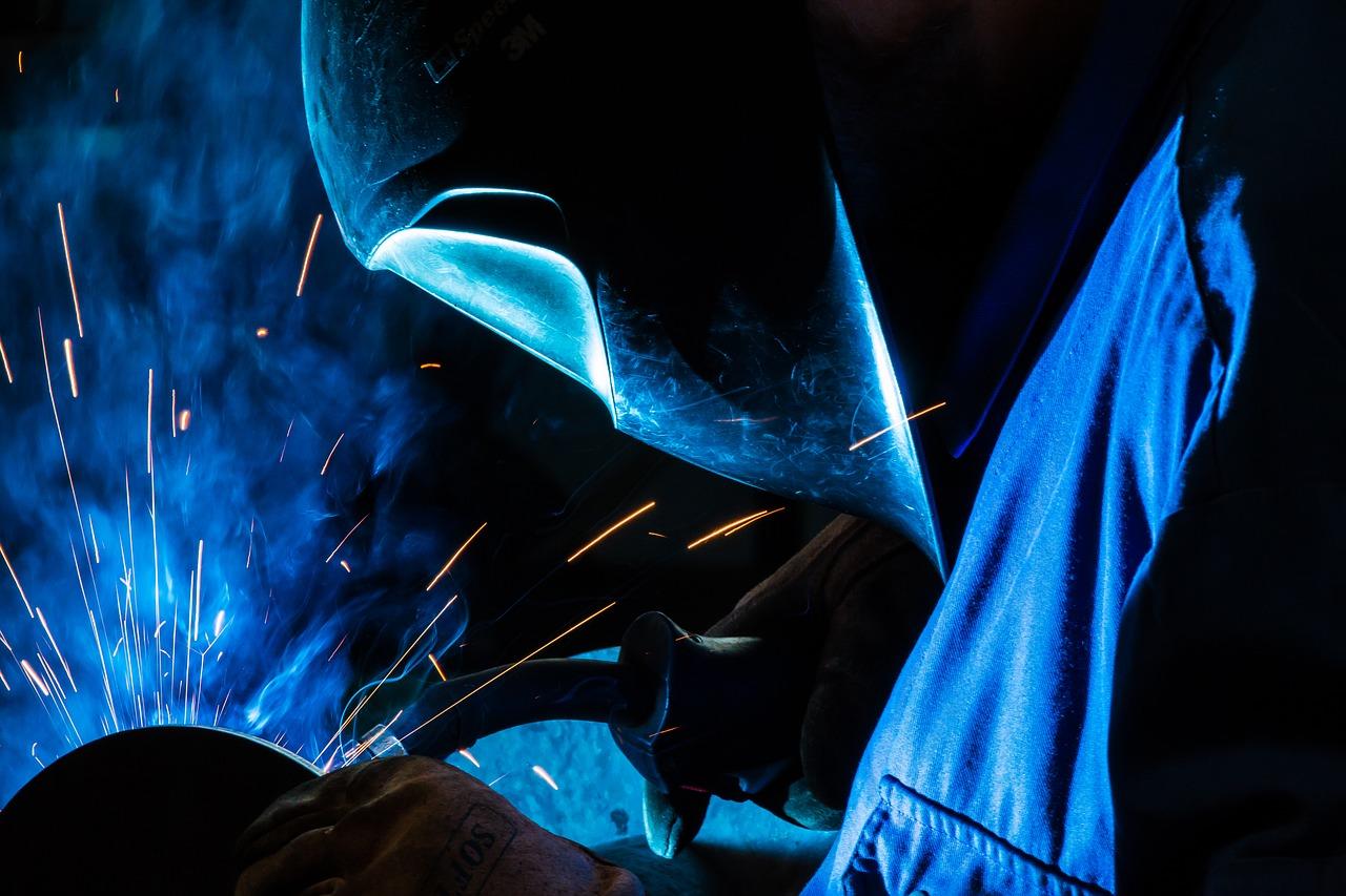 safety at work welding