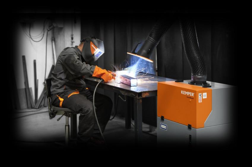 image of welding equipment in operation