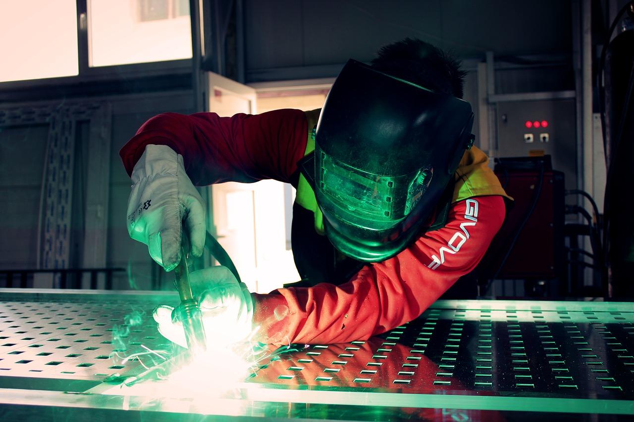 image of a welding repair